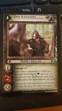 Lord of the Rings CCG Black Rider 12R154 Uruk Slaughterer X2 LOTR TCG
