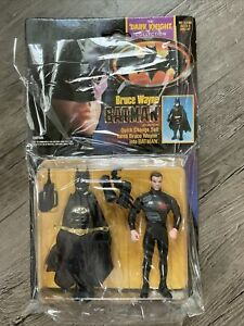 Bruce Wayne Batman Quick Change Suit The Dark Knight Collection Action Figure DC