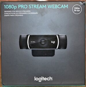 Logitech 1080p 30FPS Pro Stream Webcam NEW