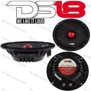 "DS18 PRO NEO6SLIM 6.5"" Shallow Midrange Speaker 400W Max Neodymium Single"