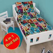 Ropa de cama para niños y niñas Marvel para niños