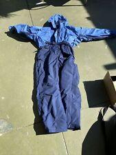New listing Columbia twin color Nylon Full Snow Ski Suit women size xl