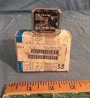 NEW Potter & Brumfield 024-18785-000, KU-5716 Relay 24V 1/10HP 120VAC 5A 240