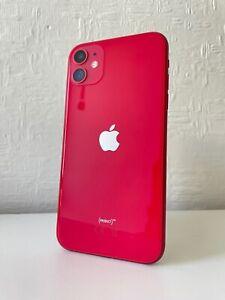 Apple iPhone 11 - Red - 64GB (Unlocked) - Dual-SIM (eSIM) A2221