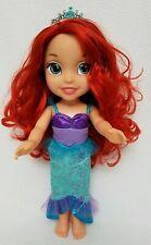 "Disney Princess Jakks Pacific 14"" Toddler Ariel Doll The Little Mermaid Disney"