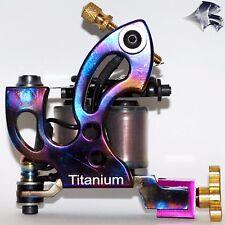 Custom Titanium Tattoo Machine #15 - Shader