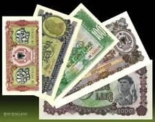 ALBANIA 1957 - BANKNOTES SET - UNC