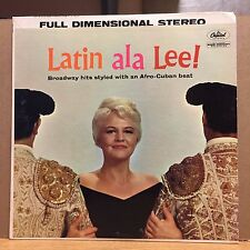 Latin ala Lee! VG+ Capitol LP Top Hits: Heart/I Am In Love/I Enjoy Being a Girl