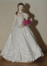 Royal Worcester Official Anniversary Figurine Of The Year 2000