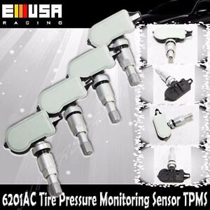 1Set 4PCS Tire Pressure Sensor 6201 TPMS for Lincoln 09-15 MKS10-14 MKT07-15 MKZ