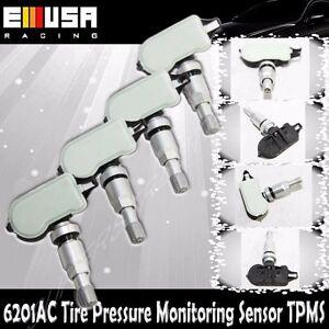 1Set 4PCS Tire Pressure Sensor 6201 TPMS for Nissan 07-15 Sentra 03-13 Xterra