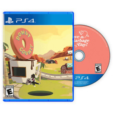 Donut County - Limited Edition Video Game For Playstation 4 PS4 Reversible Cover