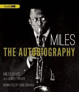 Autobiography of Miles Davis (2012, Compact Disc) very good ex-library