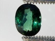 High Quality AAA 2.8 Carat Green Kunar Tourmaline;  VVS No Enhancements