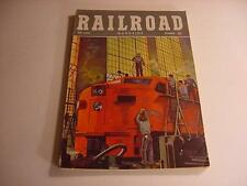 Oct 1948 Issue-RAILROAD Pulp Magazine w/Train Fiction/Nonfic-Painting the Train