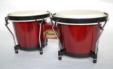 More details for bongos wood bongo drums 6.5