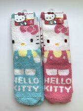2 SANRIO HELLO KITTY SOCKS Woman Size for Shoe Size 5.5 - 7 Warm