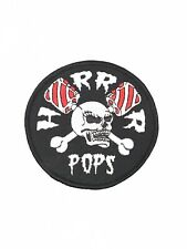 Horrorpops Embroidered Logo Patch Rockabilly Psychobilly
