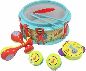 1st Drumset Early Learning Baby Musical Instruments for Children & Kids Boys