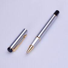 baoer 801 silver and golden roller ball pen new free shipping gift pen
