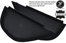 Negro con puntada lateral 2x Dash panel recorte cubiertas de cuero se adapta a Vw Golf Mk6 6 Vi 08-12