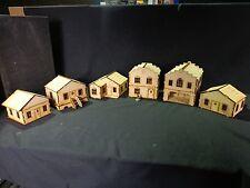 Ttcombat-Old Town scenics - 6 maisons-grand pour MALIFAUX