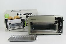 Hamilton Beach Toastation Toaster and Oven Wide Toasting Slots Toaster and Oven