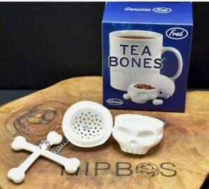 Skull Tea Infuser Loose Leaf Strainer Filter Herbal Spice Reusable Silicone