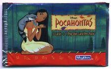 BOOSTER du Dessin animé - POCAHONTAS - ( NEUF ) 5 Cartes + 1 POP-OUT-CARD