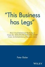 """This business has legs"": How I Used Infomercial Marketing to Create the$100,00"