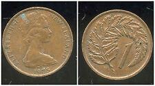 NOUVELLE ZELANDE 1 cent 1975  ( bis )