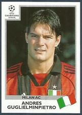 PANINI UEFA CHAMPIONS LEAGUE 1999-00- #300-AC MILAN-ANDRES GUGLIELMINPIETRO