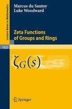 Zeta Functions of Groups and Rings (Lecture Notes in Mathematics)-ExLibrary