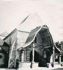 AVON c. 1938 -Porche à Auvent de l'Église Saint-Pierre Seine-et-Marne- Div 10853