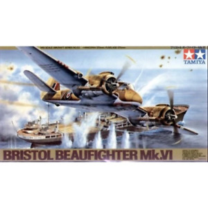 Tamiya 61053 1/48 Bristol Beaufighter Mk. VI Plastic Model Kit Brand New