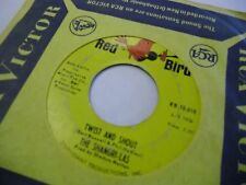 Shangri Las Twist and Shout/Give Him A Great Big 45 RPM Red Bird Records VG