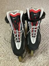 New listing Nike N Dorfin 4 Air Max Inline Roller Skates Red Black Silver Men's Size 11