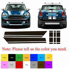 Hood Stripes Rear Graphics Decal Stickers For Mini Cooper Countryman F60 2017-21