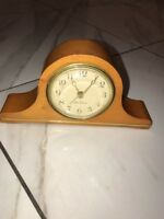 Vintage Seth Thomas Cherry Mantelette Clock model 15485 USA made