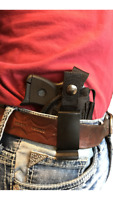 Concealed IWB Gun Holster with Magazine Pouch for Ruger LCP 380 With Laser