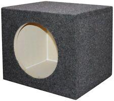"Qpower QSMPSQ10E Empty Woofer Box 10"" Square"