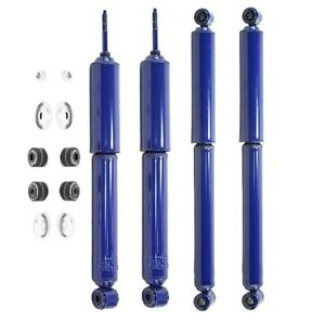 NEW Front & Rear Shock Absorbers Monroe MonoMax For Dodge 440 Plymouth Superbird