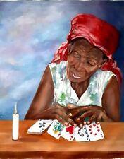 20 x 24  Original Painting by THE GREAT MASTER TOUSSAINT AUGUSTE -HAITI-HAITIAN