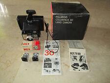 Polaroid colorpack 80 país cámara + 2 cubo de rayo de Philips, embalaje original, rar