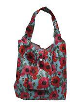 Fay Foldable Eco Chic Shopper Bag (Blue Poppy)