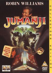 Jumanji DVD (2002) Robin Williams, Johnston (DIR) cert PG FREE Shipping, Save £s
