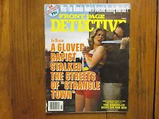 """Mar-1980 """"Front  Page Detective"""" Magazine(WILLIAM HENRY HANCE/TIMOTHY  NEWFIELD)"""