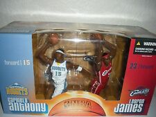Lebron James Vs Carmelo Anthony - Deluxe 2-pack - Mcfarlane Sportspicks NBA