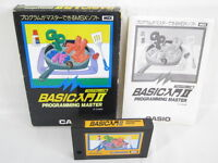 MSX BASIC NYUMON II 2 Programming Master Boxed Import Japan Video Game 11509 msx
