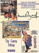 FANNY TRILOGY DVD box set  MARIUS, FANNY, CESAR - Marcel Pagnol - 4 discs